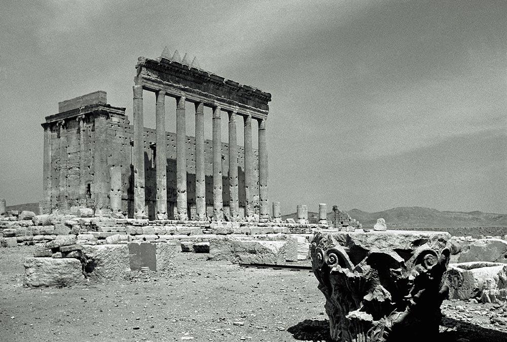 Palmyra Baaltempel 1960 Courtesy und © Estate Yvonne v. Schweinitz, Berlin. Foto: Yvonne v. Schweinitz