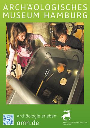 AMH Plakat Dauerausstellung | Archäologische Museum Hamburg | Archäologie Harburg