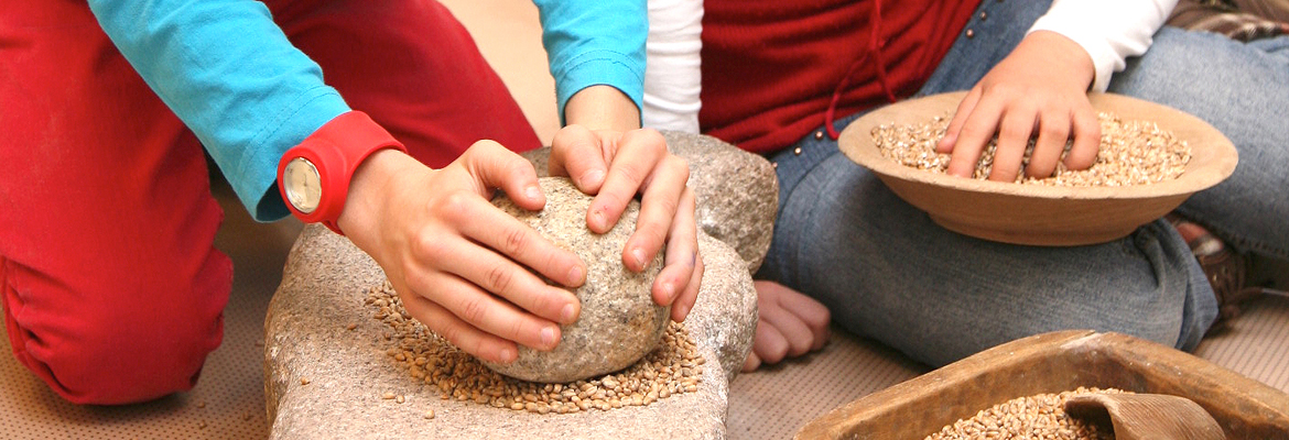 Sunday Kids: Farmer's Bread Stone Age Style