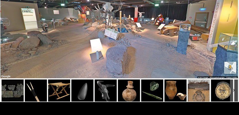 Archaeological Museum Hamburg is Part of the Google Art Project