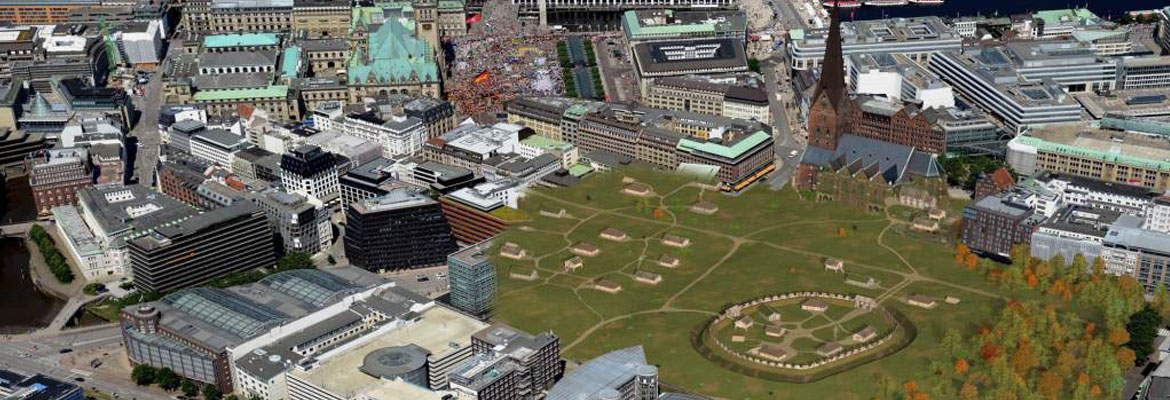 Joint project of HafenCity University Hamburg brings Cathedral Square back to life
