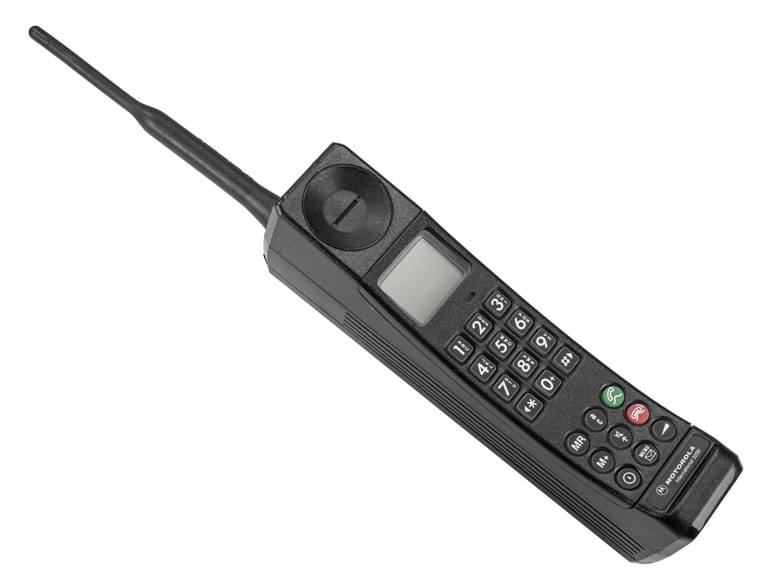 "hot stuff - Objektbild ""Der Knochen"" Motorola International 3200"