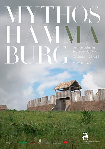 Mythos Hammaburg Plakat Sonderausstellung Archäologische Museum Hamburg