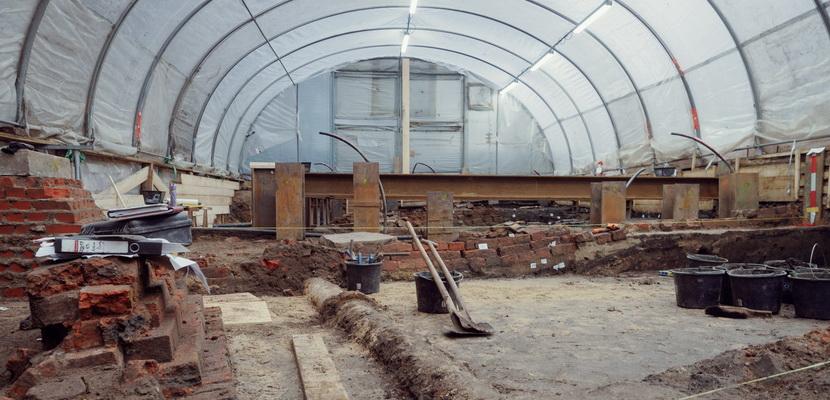 Ausgrabungen an der Neuen Burg