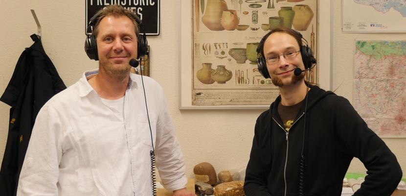 Podcast AMH 005: Von Schaufeln und Metalldetektoren