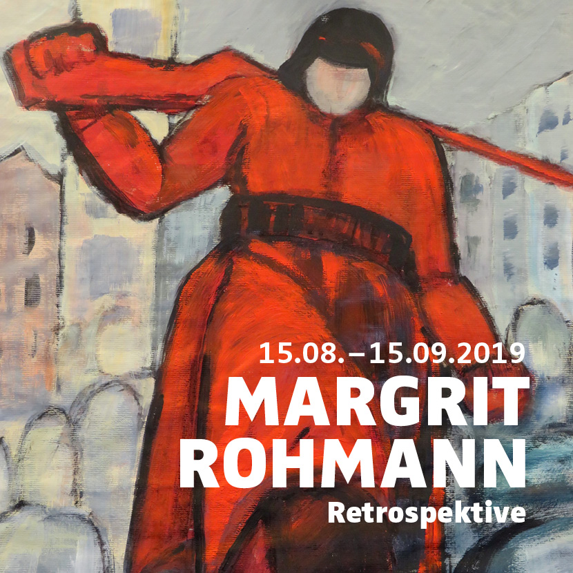 "Sonderausstellung ""Margrit Rohmann – Retrospektive"""