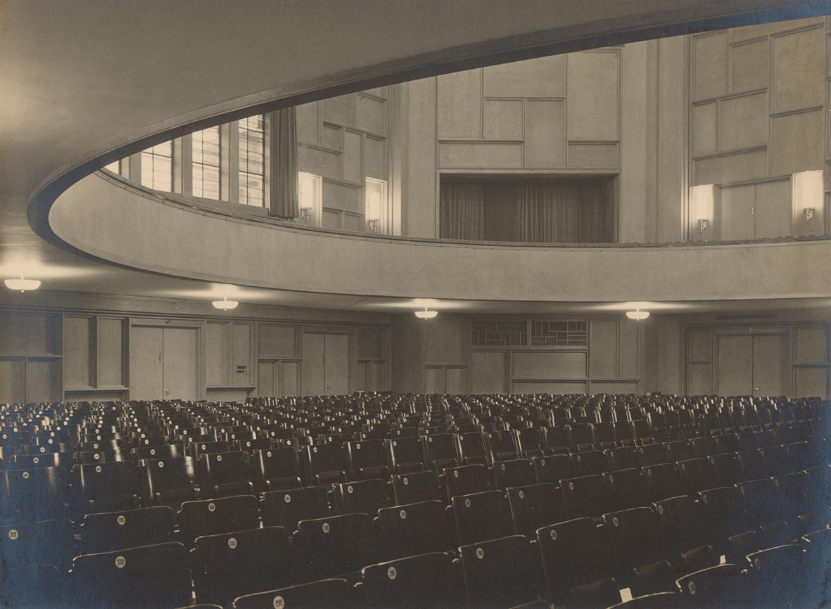 Saal-der-Friedrich-Ebert-Halle-1930 Ausstellung Archäologisches Museum Hamburg