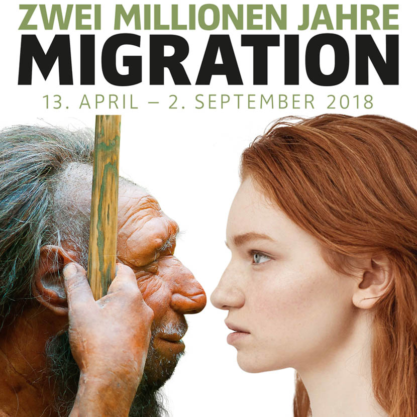 Ab dem 13. April 2018: Zwei Millionen Jahre Migration